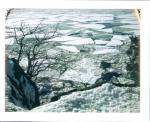 Hudson River frozen 2015 by slbradley
