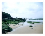 Poldhu Beach in Cornwall, UK
