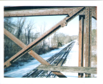 Railroad bridge at Rokeby by slbradley