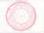 pink-on-pink mandala by slbradley